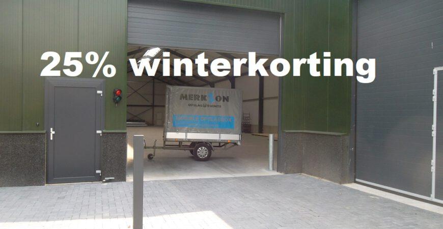 25 procent winterkorting
